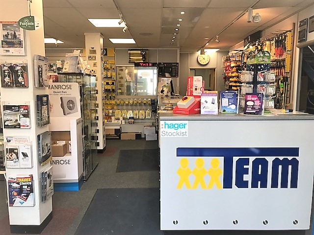 Light Switch Trade Counter