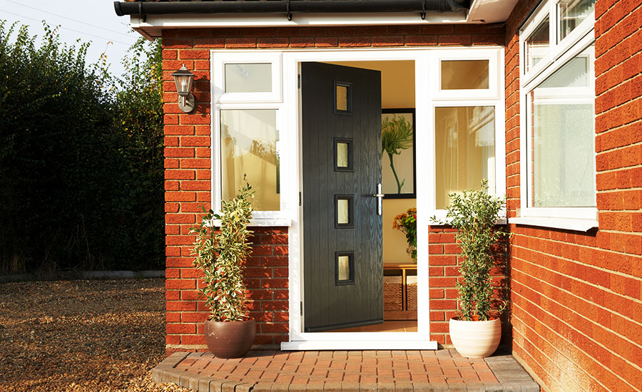 secure front door in Essex
