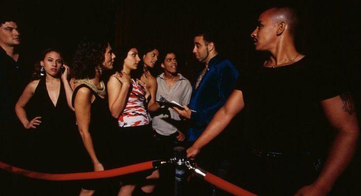 Essex bouncers at a bar