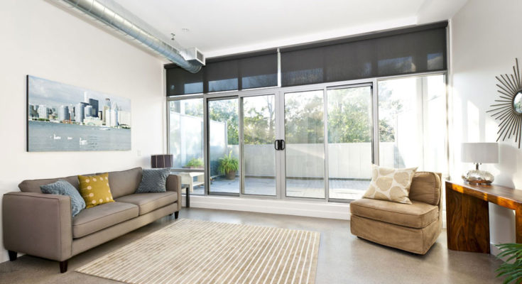 Sliding Doors in Essex home